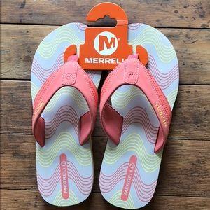 Merrell Cedrus Flip Flops - Size 9 NWT